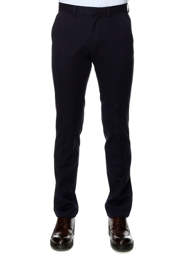 Cotton Bar Slim Fit Pantolon İndigo